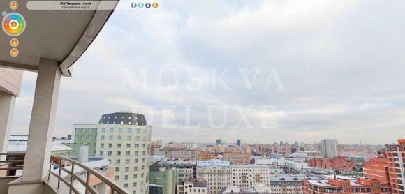 Тверская Плаза - виды на центр Москвы