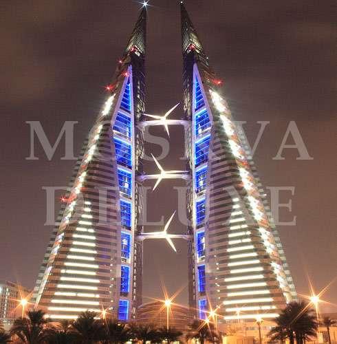 Эко небоскребы - The Bahrain World Trade Center Towers