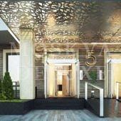 Примеры будущей отделки вестибюлей, лифтовых и межквартирных холлов в жк Мосфильмовский