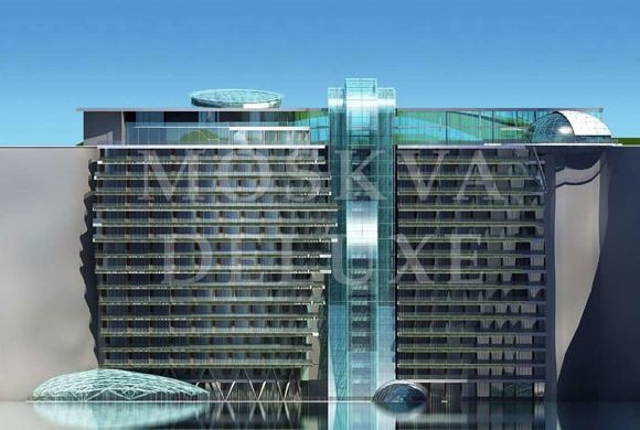 Shimao Shanghai Wonderland - первый в мире подземный отель