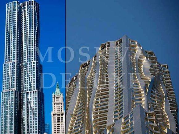 Лучшие небоскребы - 8 Spruce Street