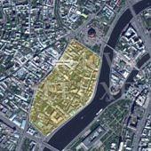 Золотая миля на карте Москвы