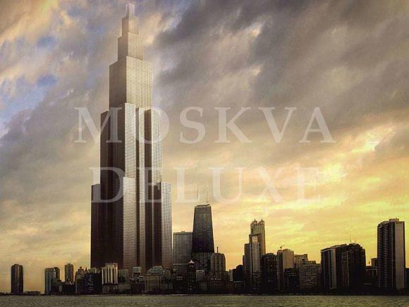 """""""Небесный город"""" - проект самого высокого небоскреба"""