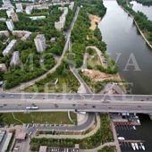 Виды на Москву с жилого комплекса Алые Паруса