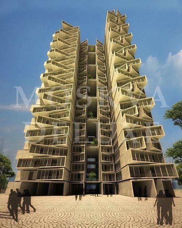 Жилой комплекс Sanskriti, Индия - Архитектура будущего MIPIM 2013