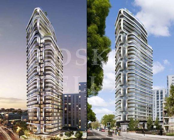Жилой комплекс Canaletto tower — Великобритания, Лондон - Архитектура будущего MIPIM 2013