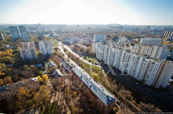 Крыша «Пирамиды» и виды на Москву