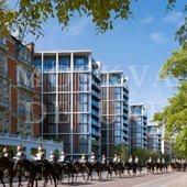 Средние цены на элитное жилье в Монако, современный лондонский комплекс Hyde Park One