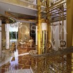 Золотой интерьер дома от компании «Дворянское гнездо». Фотографии частного особняка на Дмитровском шоссе в отделкой из золота.
