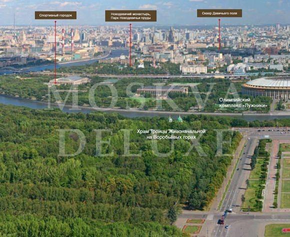 Парка района Хамовники