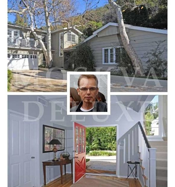 Дома знаменитостей, недвижимость звезд шоу-бизнеса, Билли Боб Торнтон. Дом в Брентвуде, Лос Анджелес
