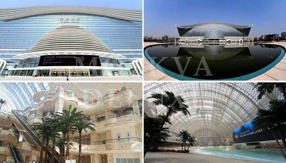 В Китае состоялось официальное открытие самого большого здания в мире