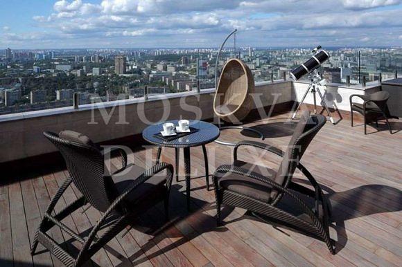 Квартиры с террасой в Москве, элитные новостройки с террасами