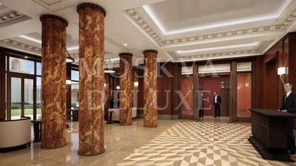 Фотографии, визуализации, видео-презентации, Лобби жилого комплекса «Баркли Резиденс»