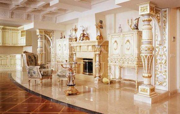 Элитные квартиры из золота, Квартира в одном из домов на Крылатских холмах стоимостью 7 млн долларов