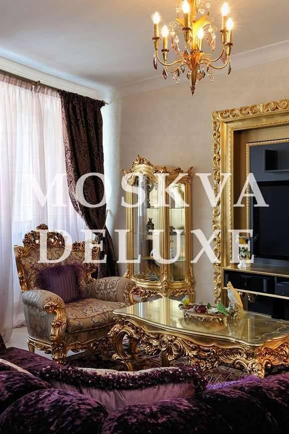 Элитные квартиры из золота, «Золотая» квартира из портфолио дизайнерской студии «БЕН-Студио»