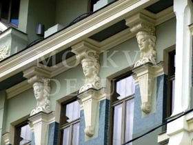 Доходный дом Вильнера-Калиновского — Большой Афанасьевский переулок, дом 32