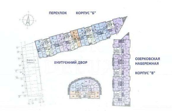 ЖК «Аквамарин» — Озерковская набережная, дом 26
