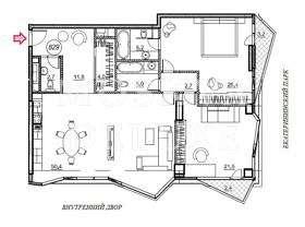 Квартира 129 кв.м. в ЖК «Barkli Park» за 2,9 млн $
