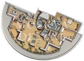 Пентхаус 389 кв.м. в ЖК «Воробьевы горы» за 4,5 млн $
