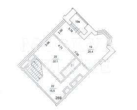 Квартира 286 кв.м. в ЖК «Золотые Ключи 2» за 2,4 млн $