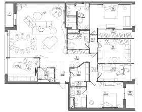 Квартира 250 кв.м. в ЖК «Фьюжн Парк» за 7 млн $