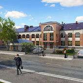 Визуализация жилого комплекса «Кадашевские Палаты»