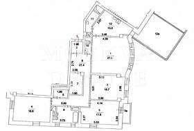 Квартира 172 кв.м. в ЖК «Венский Дом» за 3,85 млн $