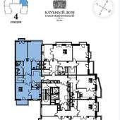 139 кв.м 6 этаж