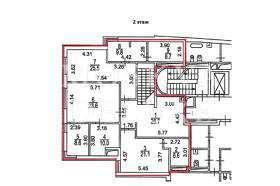 Апартаменты 202 кв.м в ЖК «Булгаков» за 5,1 млн $