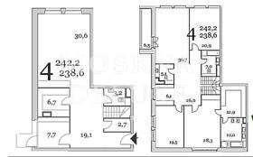 Таунхаус 242 кв.м. в ЖК «Литератор» за 186 млн рублей