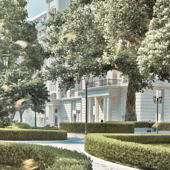 ЖК «Knightsbridge Private Park» — Кооперативная улица, вл.19