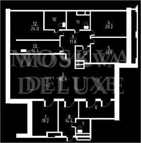 Квартира 206 кв.м. в клубном доме на Арбате за 7 млн $
