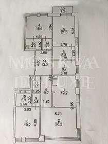 Квартира 162 кв.м. в ЖК «Садовые Кварталы» за 1,99 млн $