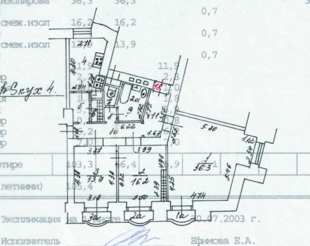 Планировка 136836