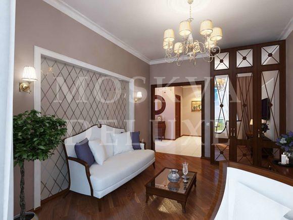 Дизайн двухкомнатной квартиры, ЖК Лосиный остров