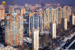 """Фотография всех высотных зданий жилого комплекса """"Квартал на Ленинском"""""""