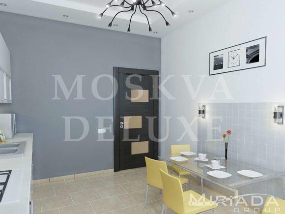 Дизайн однокомнатной квартиры в ЖК «Лосиный остров»