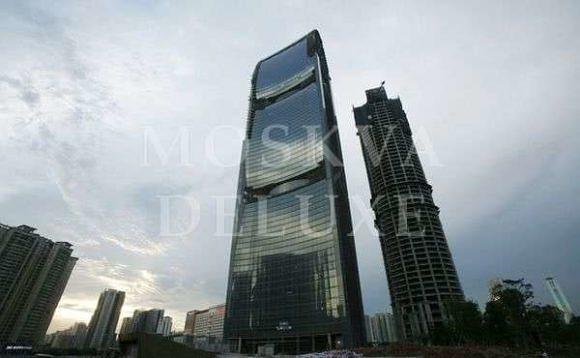 The Pearl River Tower (Башня жемчужной реки) - зеленый небоскреб из Китая