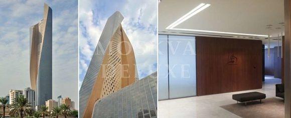 Лучшие небоскребы в Кувейте - AlHamraTower