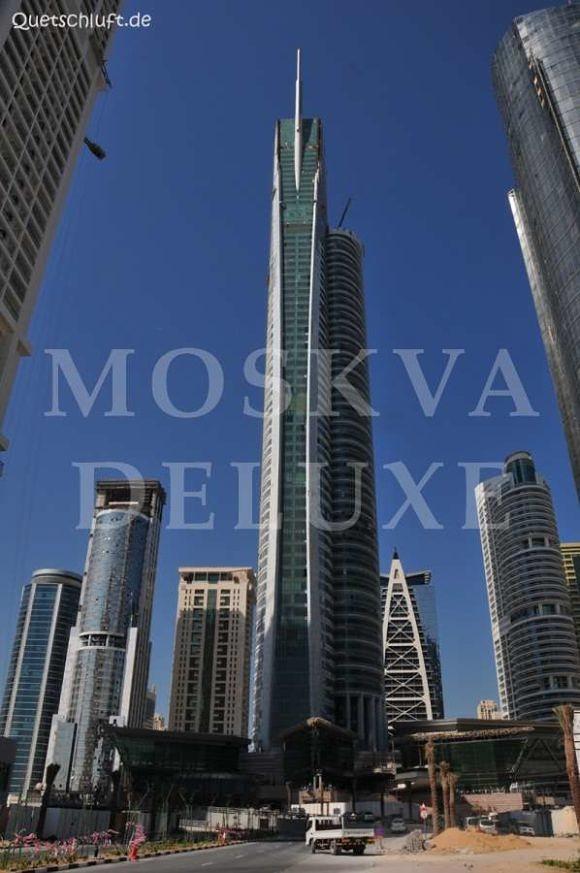 Almas Tower (Алмазная башня) - Самые красивые небоскребы по версии The Emporis Awards