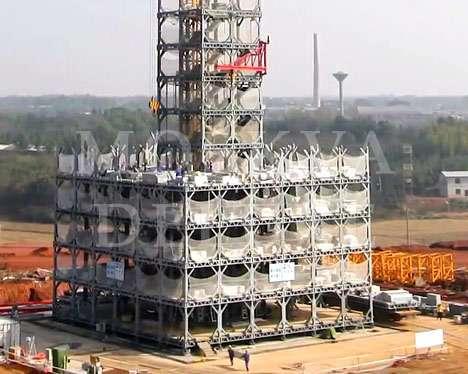 Broad Sustainable Buildings (BSB) - уникальная технология модульного строительства! Будет использоваться при возведении самого высокого в мире небоскреба Sky City Tower в Китае.