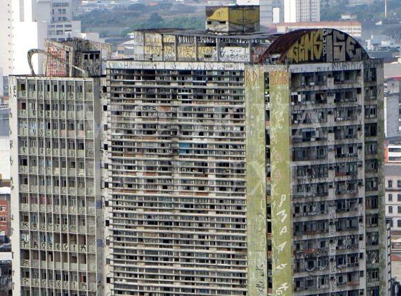 Edificio Sao Vito, Сан-Пауло, Бразилия - 10 заброшенных небоскребов мира