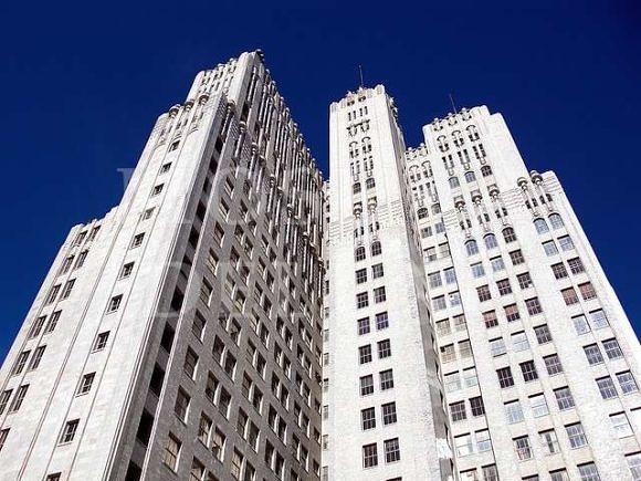 Башня PacBell в Сан-Франциско - 10 заброшенных небоскребов мира