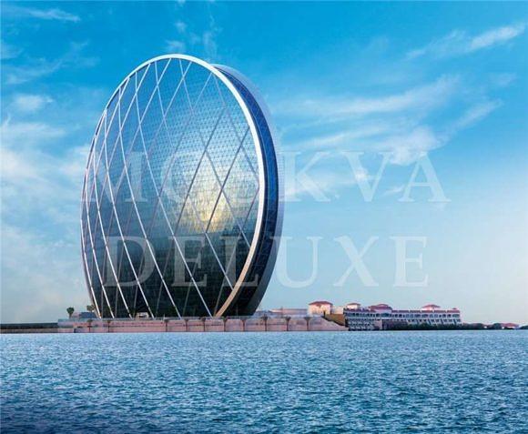 Небоскреб в Абу-Даби - AlDar HQ