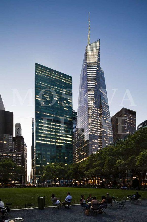 Bank of America Tower - Самые красивые небоскребы по версии The Emporis Awards