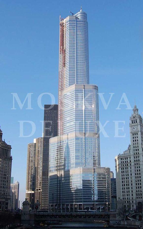 Trump International Hotel and Tower - самые красивые небоскребы по версии The Emporis Awards
