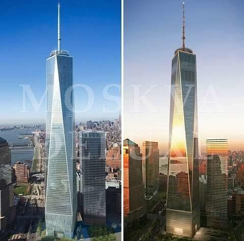 Строительство новых башен Всемирного торгового центра
