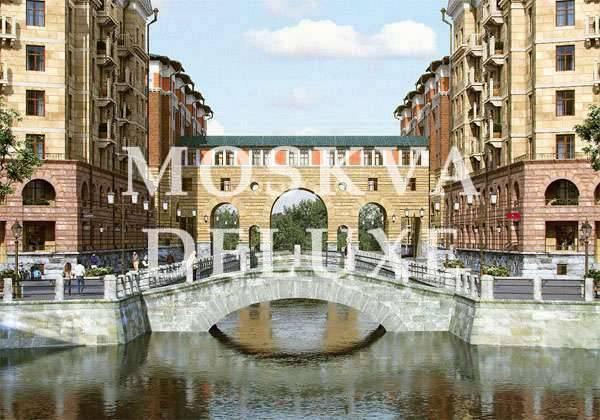 Жилой дом на мосту в комплексе «Город набережных»