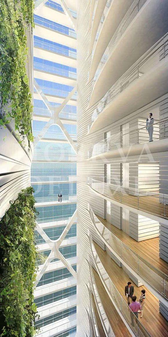 Breathing Tower - Архитектура будущего MIPIM 2013